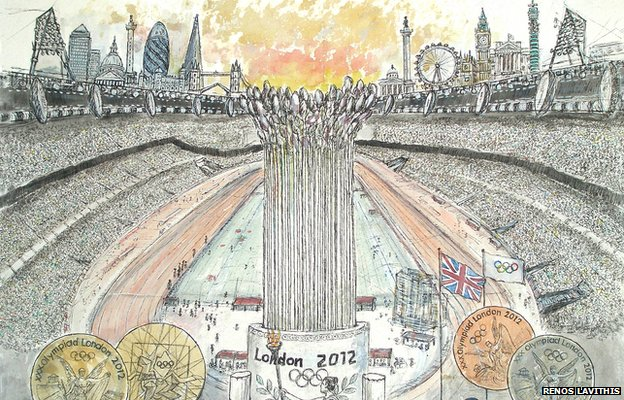 Renos Lavithis beautifully captures the spirit of London 2012