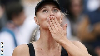Maria Sharapova won her first French Open in 2012 and has now won all of the Grand Slams
