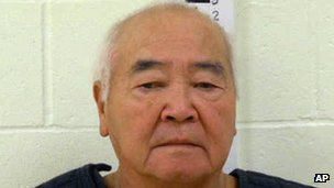James Pak stands during a booking photo (photo provided by York County Jail, 31 December 2012)