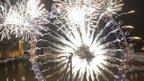 London fireworks 2013