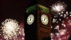 London 2013 fireworks