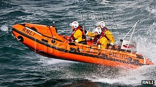 Port Isaac inshore lifeboat Copeland Bell