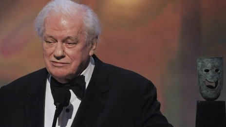 Charles Durning accepting the life achievement award at the 14th Annual Screen Actors Guild Awards in Los Angeles in 2008