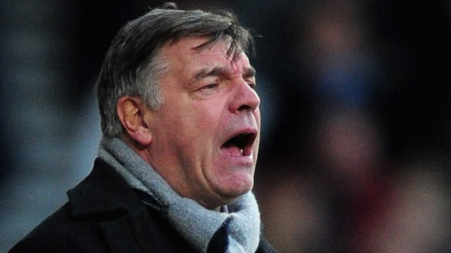 West Ham manager Sam Allardyce