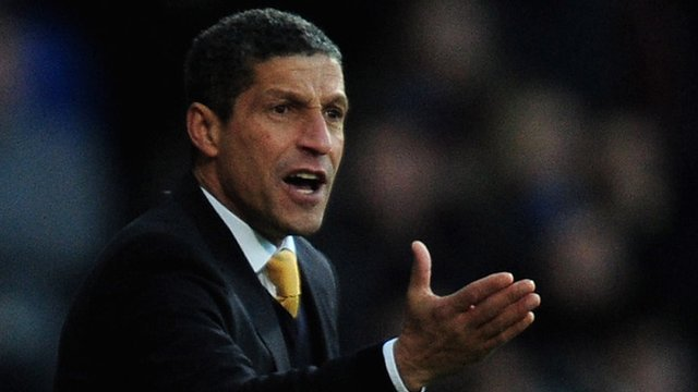 Norwich manager Chris Hughton