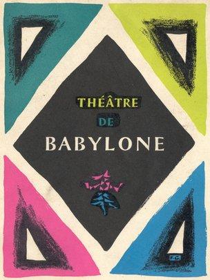 Theatre de Babylone flyer