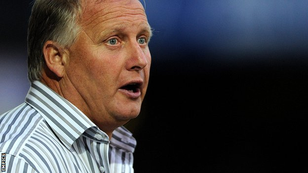 Bury manager Kevin Blackwell