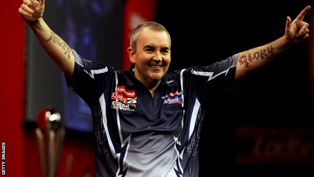 PDC World Champion Phil Taylor