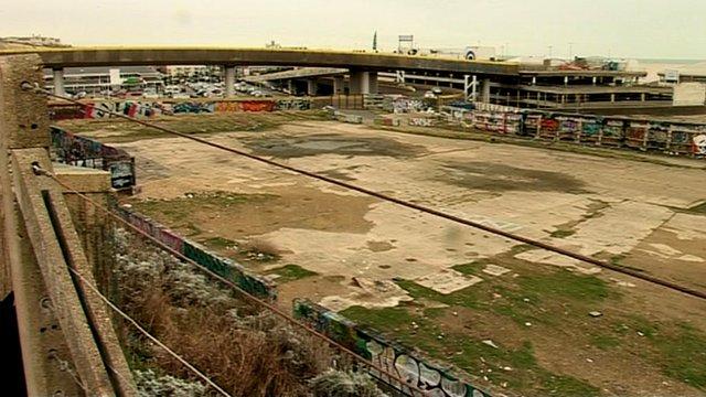 Former site of Black Rock swimming pool