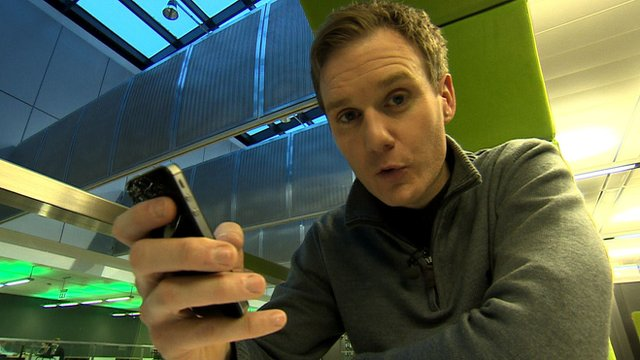 Dan Walker's guide to the BBC Sport mobile app