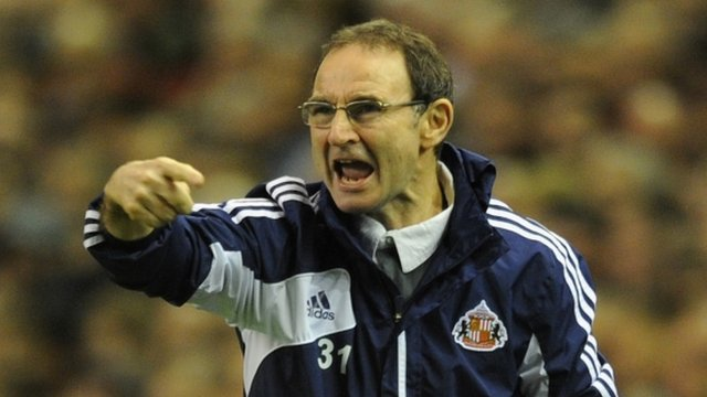 Sunderland manager Martin O&#039;Neill