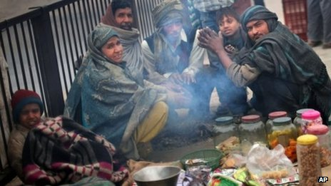 Delhi coldest day 2 January 2012