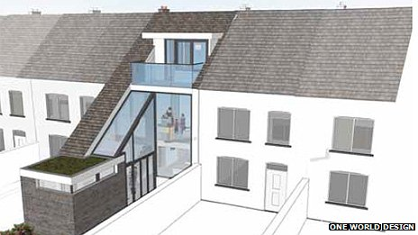 Design for rear extension