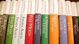 P.G. Wodehouse books