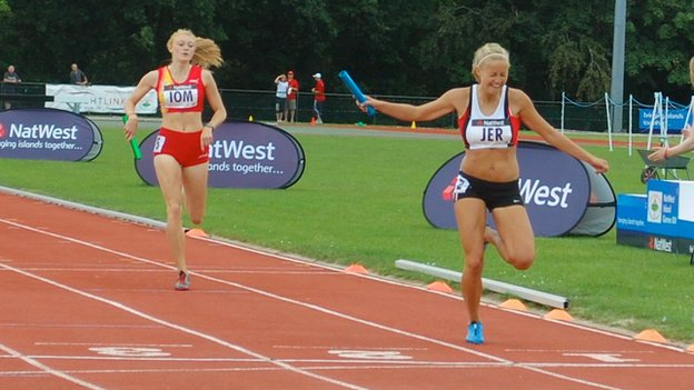 Athletics at 2011 Island Games