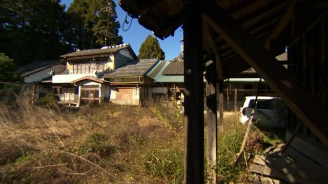 Tatsuno village near the Fukushima nuclear plant is now a ghost town