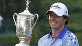 Rory McIlroy with trophy