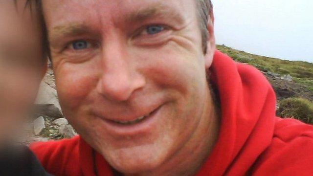 Mountaineer Ian McKeever
