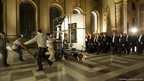 Filming of The Iron Lady in the Painted Hall