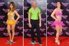 Samia Ghadie, Gareth Thomas and Beth Tweddle