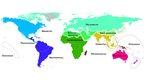 A modern map of the vertebrate world