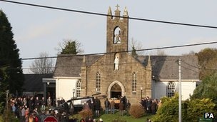 Catherine Gowing's funeral in County Offaly