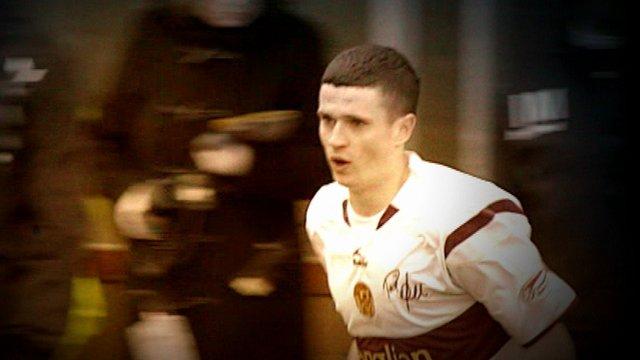 Former Motherwell striker Jamie Murphy