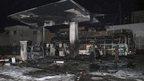 Bomb hits Syria petrol station