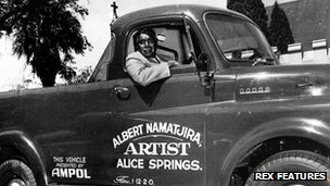 Albert Namatjira in 1956