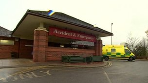 Heartlands Hospital A&E