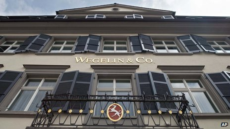 Wegelin headquarters building in St Gallen, Switzerland