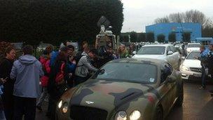 Mario Balotelli's car