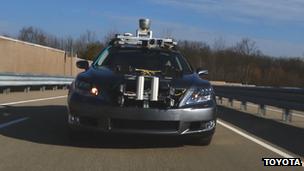 Toyota self-drive prototype