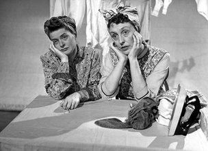 Daphne Oxenford and Joyce Grenfell in Joyce Grenfell Requests the Pleasure