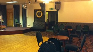 The Kill One function room