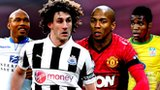 El-Hadji Diouf, Fabricio Coloccini, Ashley Young, Wilfried Zaha