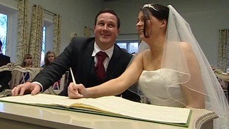 Paul Cox and his wife Natasha