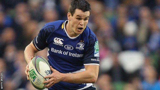 Jonathan Sexton was one of the Leinster try-scorers