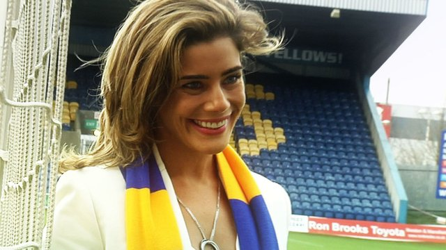 Mansfield Town chief executive Carolyn Radford