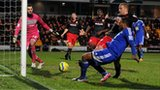 Matthew Barnes-Homer equalises for Macclesfield