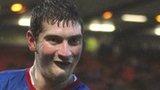 Linfield striker Matthew Tipton