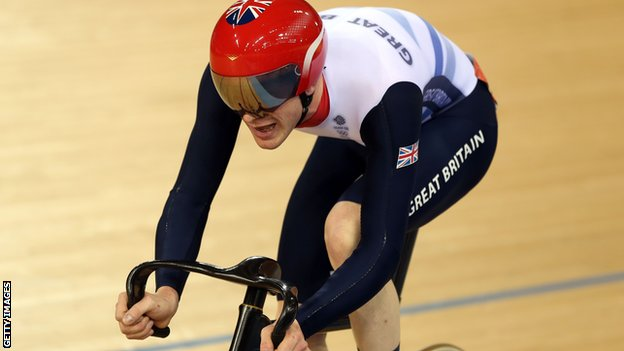 Olympic gold and bronze medallist Ed Clancy