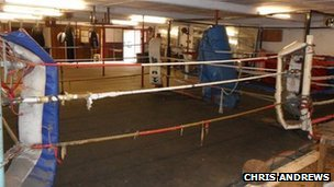 Droitwich Amateur Boxing Club gym
