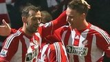 Steven Fletcher and Connor Wickham