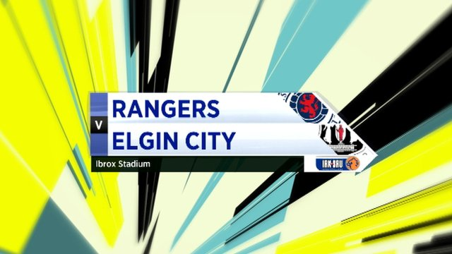 Highlights - Rangers 1-1 Elgin City