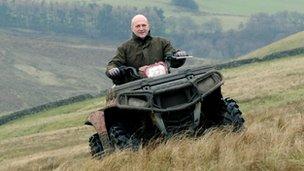 Paul Stobbart on his farm