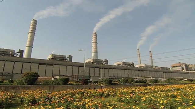 Power station in India