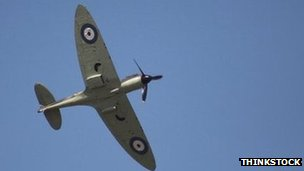 A Spitfire