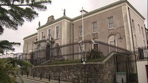 Downpatrick courthouse