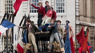 Scene from Les Miserables